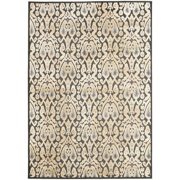 Safavieh Paradise Charcoal Grey Viscose Rug (4' x 5' 7)