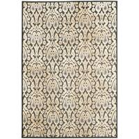 Safavieh Paradise Oriental Charcoal Grey Viscose Rug - 5'3' x 7'6'
