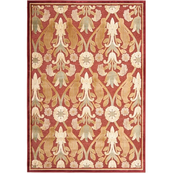 Safavieh Paradise Red Viscose Rug - 8' x 11'-2""