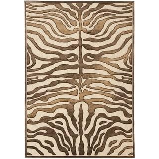 Safavieh Paradise Tiger Cream Viscose Rug (4' x 5' 7)