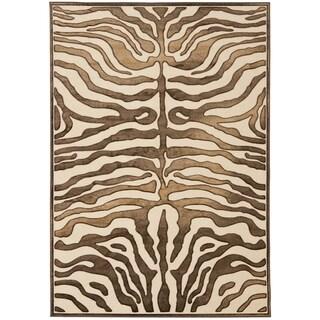 Safavieh Paradise Tiger Cream Viscose Rug (8' x 11' 2)