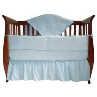 American Baby Company Heavenly Soft Minky Dot 4-piece Crib Set|https://ak1.ostkcdn.com/images/products/7647577/P15063654.jpg?impolicy=medium