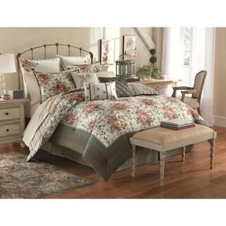 Shop Laura Ashley Wakefield 4 Piece Comforter Set Free