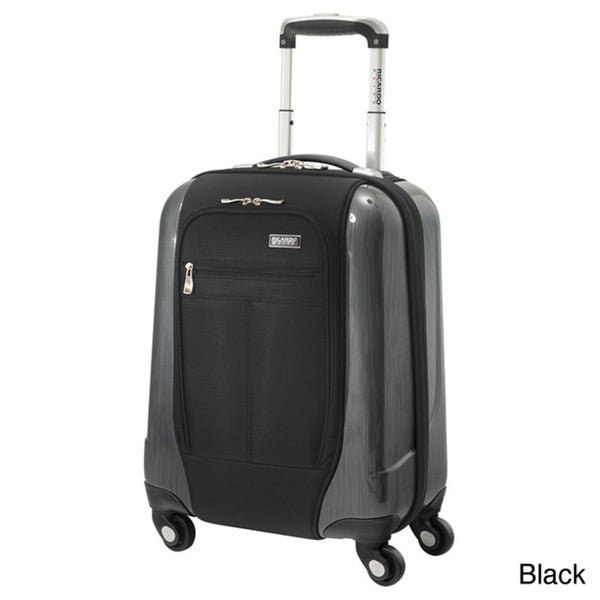 Ricardo Beverly Hills Crystal City 17-inch Expandable Carry-on Spinner Upright