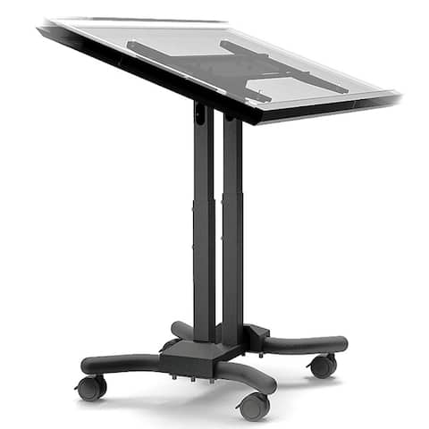 Cotytech Adjustable Ergonomic Mobile Touch Screen Cart for 32 to 56 Inches