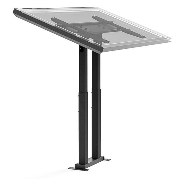 Cotytech Adjustable Ergonomic Touch Screen Stand for 32 to 56 Inches
