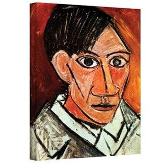 Shop Pablo Picasso Self Portrait Gallery Wrapped Canvas