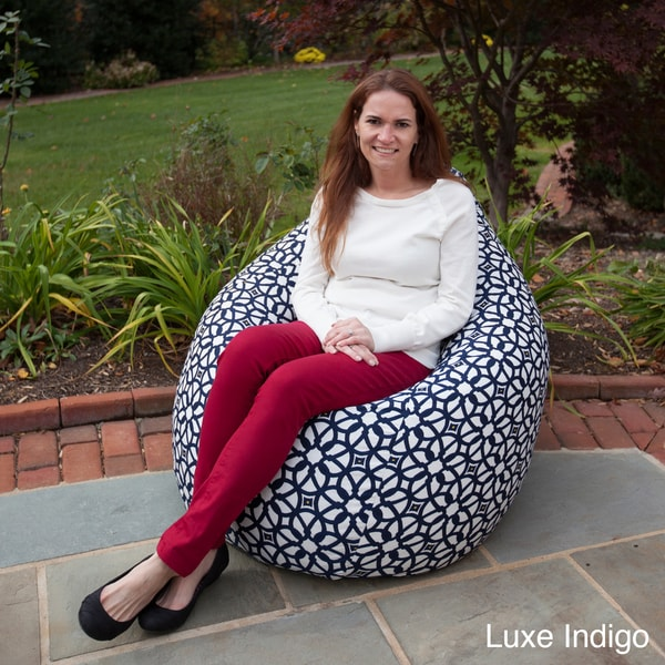 Weather Resistant Outdoor Tear Drop Bean Bag