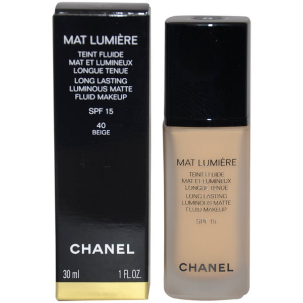 Chanel Mat Lumiere 'Beige' Long Lasting Luminous Matte Fluid Makeup