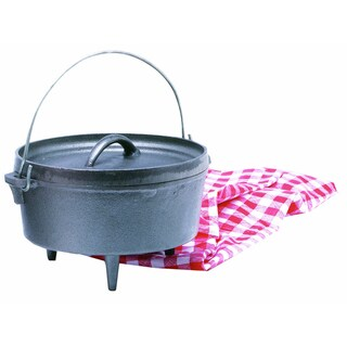Texsport Cast Iron Dutch Oven with Legs (4-quart)