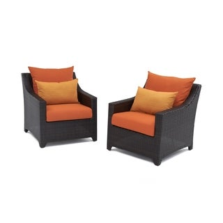RST Outdoor 'Tikka' Patio Club Chair (Set of 2)