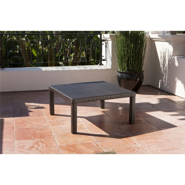 RST Outdoor U0027Tikkau0027 4 Piece Corner Sectional Sofa And Coffee Table Patio  Furniture Set   Free Shipping Today   Overstock.com   15063915