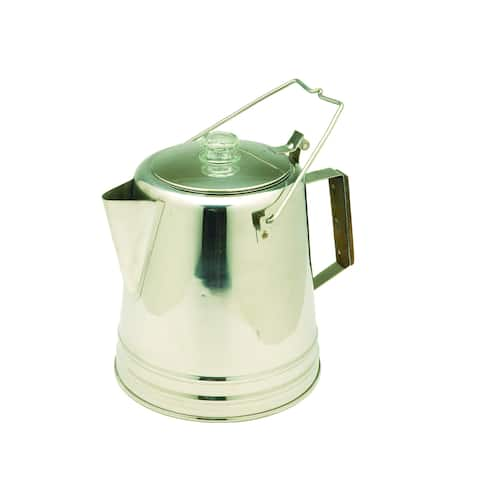 Texsport Stainless Steel 28-cup Percolator