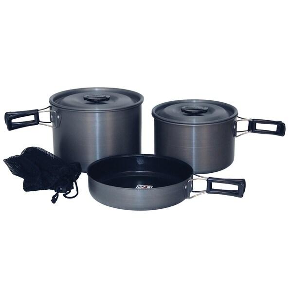 Texsport Trailblazer Black Ice Cook Set