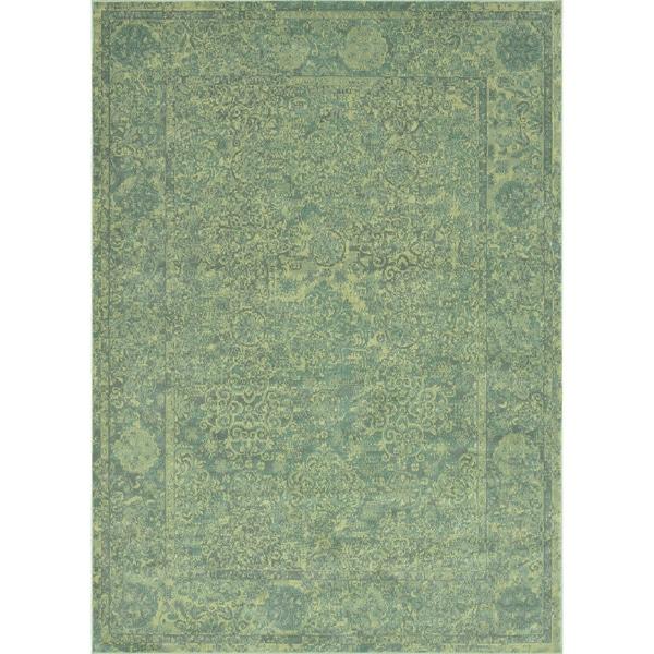 Royalty Aqua Rug (7'7 x 10'5)