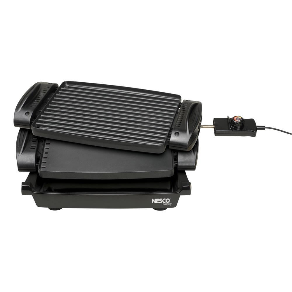 Nesco RG-1400 Black 1400-watt Reversible Grill/Griddle (M...