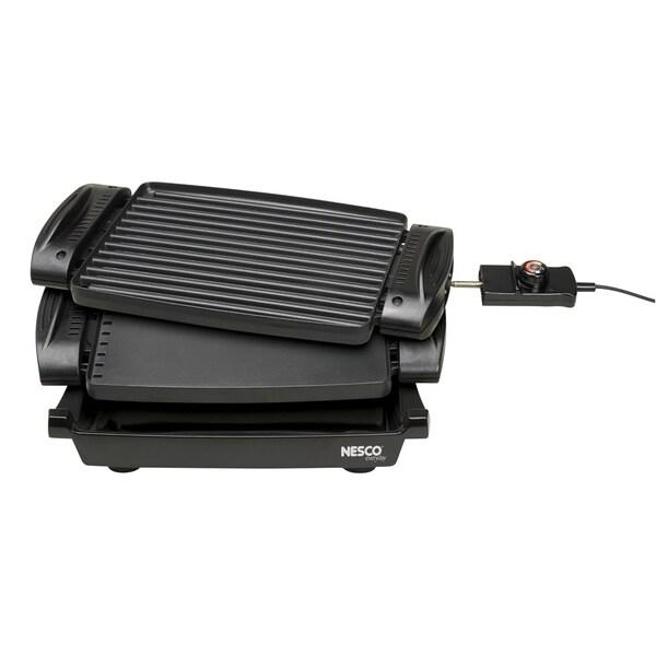 Nesco RG-1400 Black 1400-watt Reversible Grill/Griddle