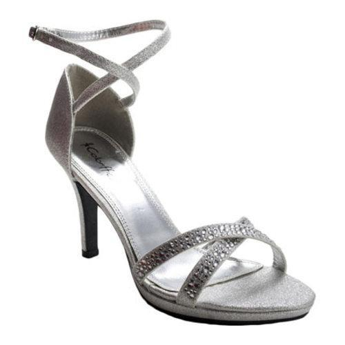 Women's Sizzle Lourdes Silver Synthetic - Thumbnail 0