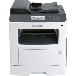 Lexmark MX410DE Laser Multifunction Printer - Monochrome - Plain Pape