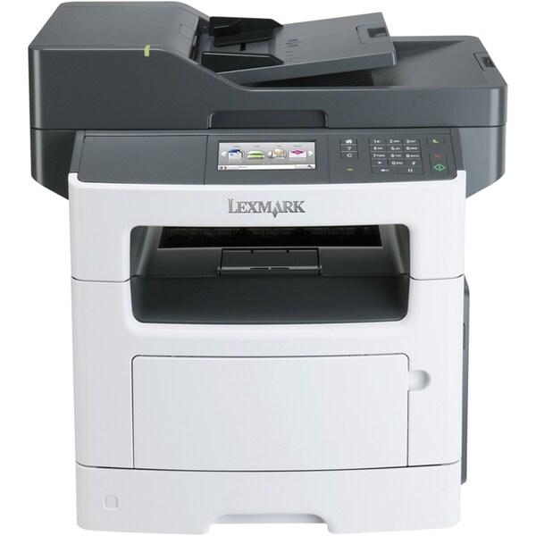 Lexmark MX511DE Laser Multifunction Printer - Monochrome - Plain Pape