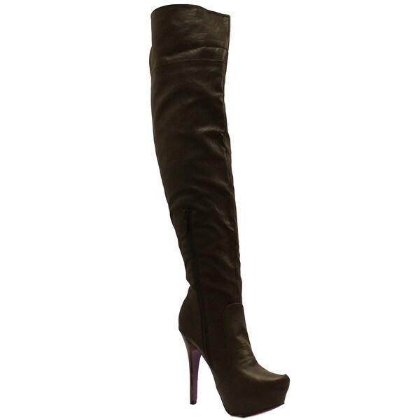 Toi et Moi Women 'Sheryl-07' Platform Boots
