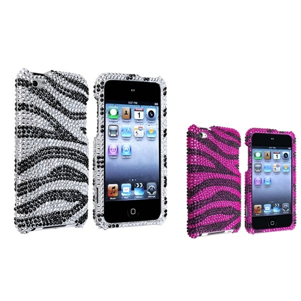 BasAcc Bling Cases for Apple iPod Touch 4th Generation (Pack of 2)