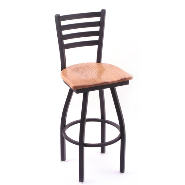 Cambridge Oak Extra Tall Swivel Barstool