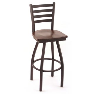Cambridge 36-inch Cherry Maple Horizontal Slat-back Bar Stool