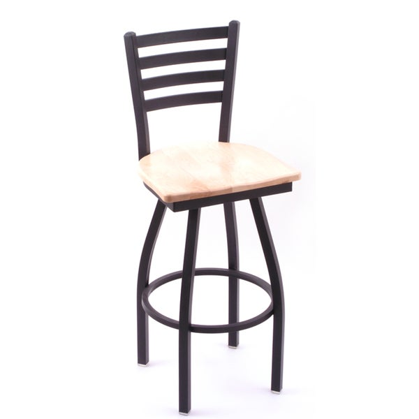 Cambridge 36-inch Natural Maple Horizontal Slat-back Bar Stool