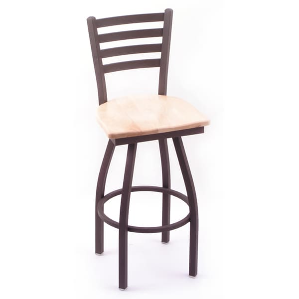 Shop Cambridge 36 Inch Maple Swivel Bar Stool Free Shipping Today