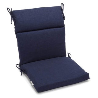 Blazing Needles Solid 3 Section Chair Cushion
