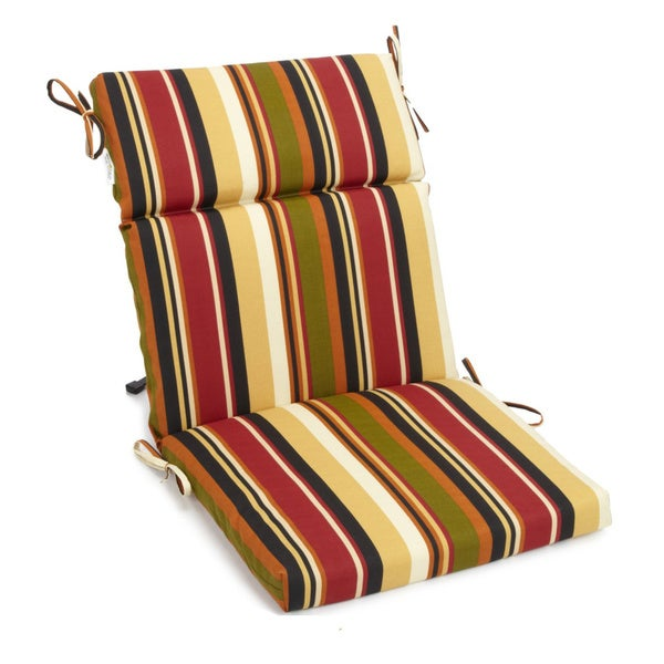 Bon Blazing Needles Three Section Outdoor Chair Cushion