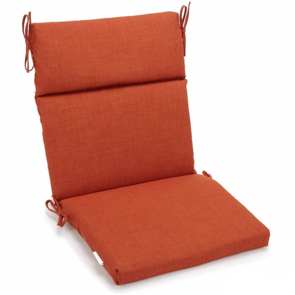 Ordinaire Blazing Needles Seat And Back Outdoor Chair Cushion