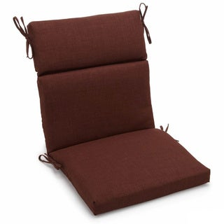 Blazing Needles Seat and Back Outdoor Chair Cushion