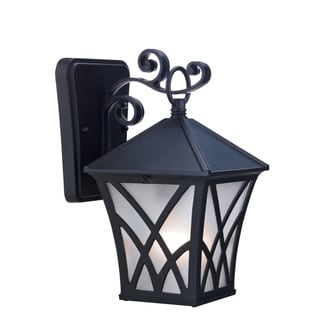 Chloe Bronze Transitional One-light Outdoor Wall Light