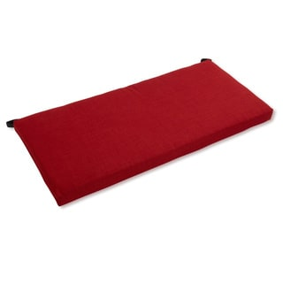 "Blazing Needles All-weather 42-inch Solid Outdoor Bench Cushion - 42"" x 19"""