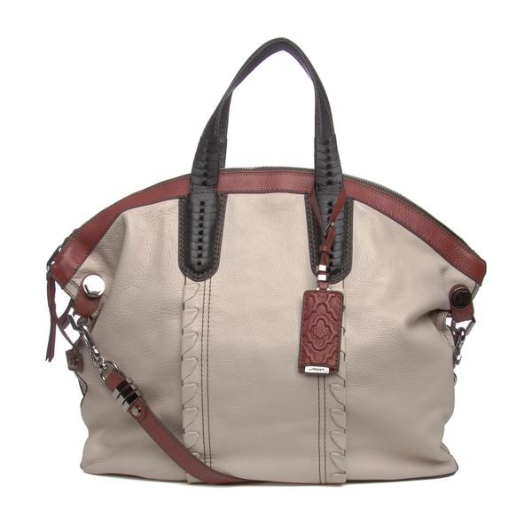 Oryany Convertible Woven Detail Tote Handbag