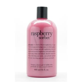 Philosophy Raspberry Sorbet 16-ounce Shower Gel|https://ak1.ostkcdn.com/images/products/7650356/P15065758.jpg?impolicy=medium