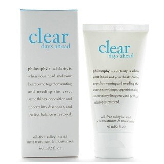 Philosophy Clear Days Ahead 2-ounce Oil-free Acne Treatment