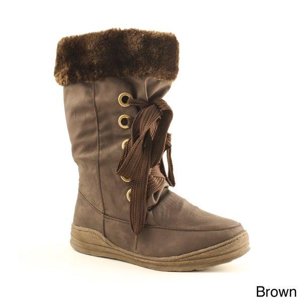 Women's 'Rene-01' Faux Fur-lined Boots