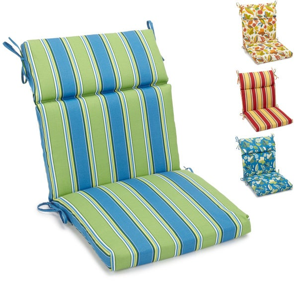 Awesome Blazing Needles Outdoor 3 Section Chair Cushion