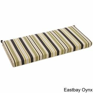 Blazing Needles 42-inch Print Outdoor Bench Cushion