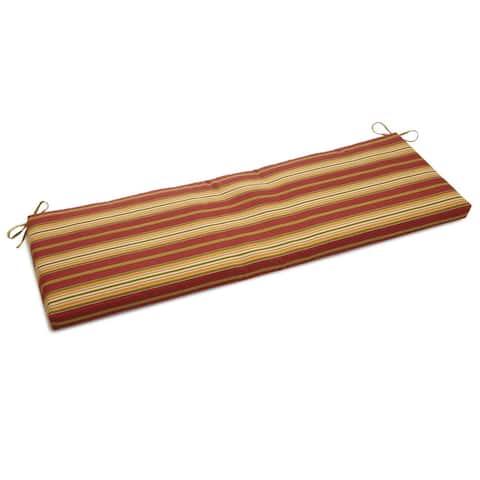 """Blazing Needles 60-inch Indoor/Outdoor Bench Cushion - 60"""""""