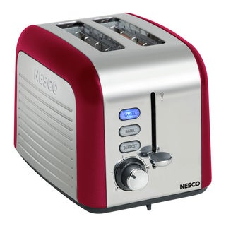 Nesco T1000-12 Red 1000-watt 2-slice Toaster