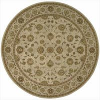 Hand-tufted Heritage Hall Ivory Rug (9' x 9') - 9' x 9'