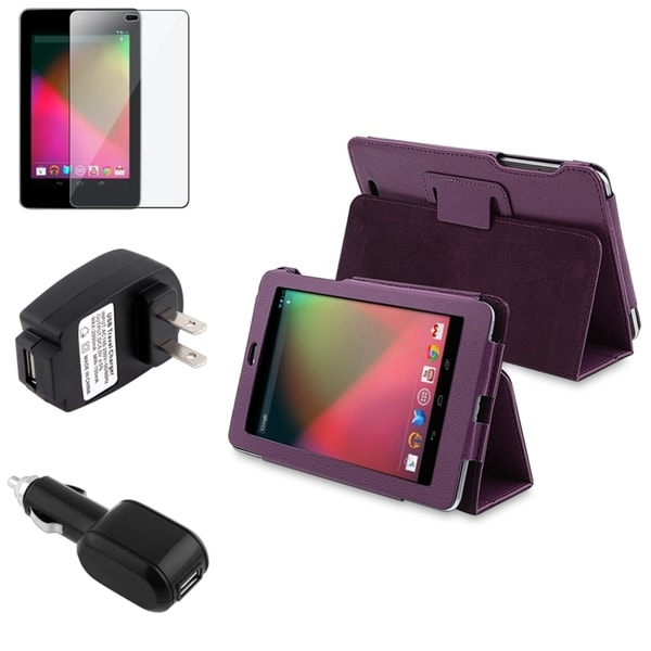 BasAcc Case/ Screen Protector/ Chargers for Google Nexus 7