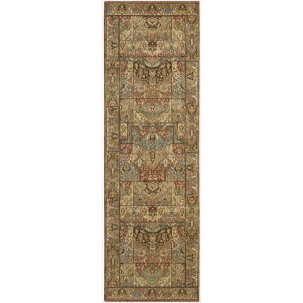Living Treasures Multi Runner Rug - 2'6 x 8'