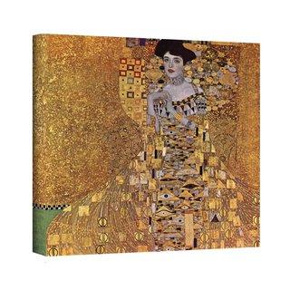 Gustav Klimt 'Portrait of Bloch Bauer' Gallery Wrapped Canvas