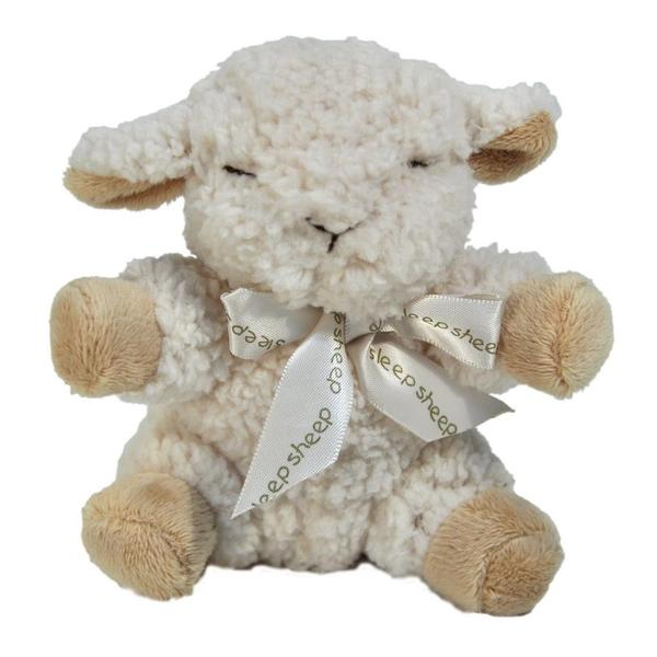Cloud B Plush Baby Sheep with Quiet Rattle
