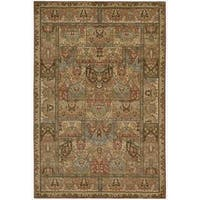 "Living Treasures Multicolor Wool Rug - 5'6"" x 8'3"""